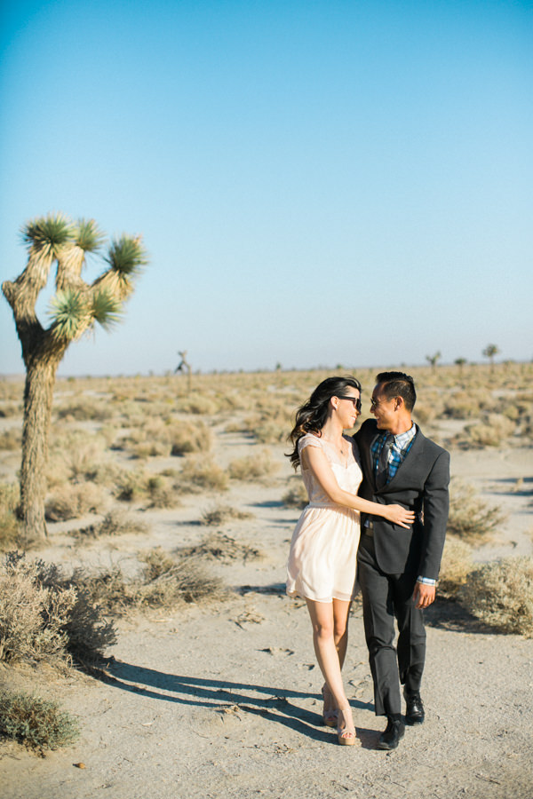 Dry Lakebed Engagement Session In Palmdale Ca Jeremy