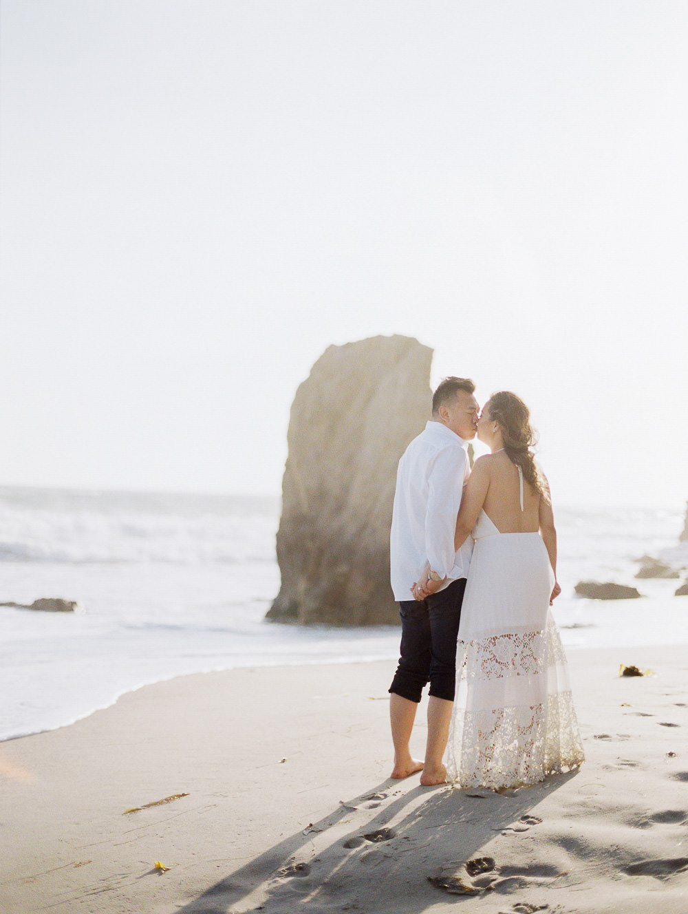Sunset Engagement Session In Malibu CA
