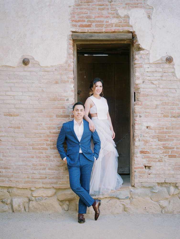 mission san juan capistrano engagement photography-27