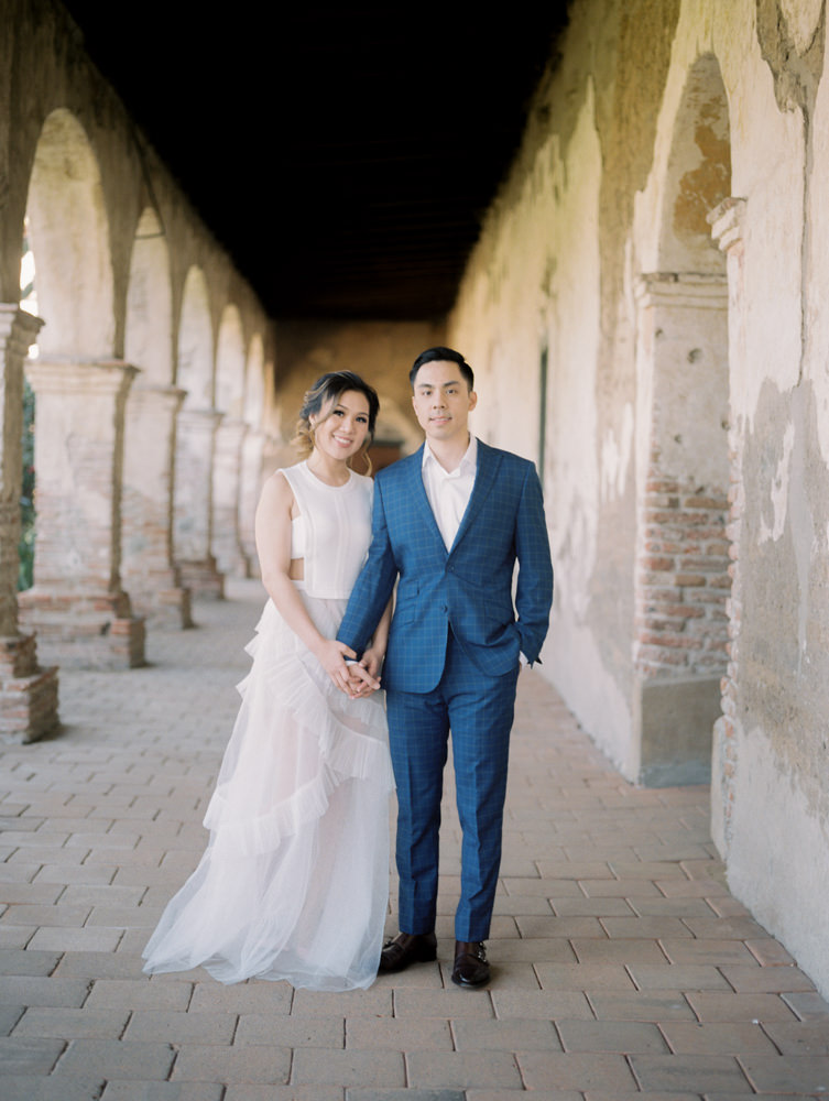 mission san juan capistrano engagement photography-28