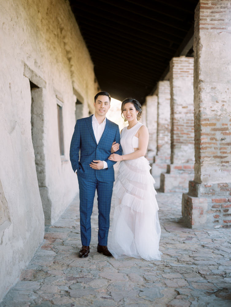 mission san juan capistrano engagement photography-30