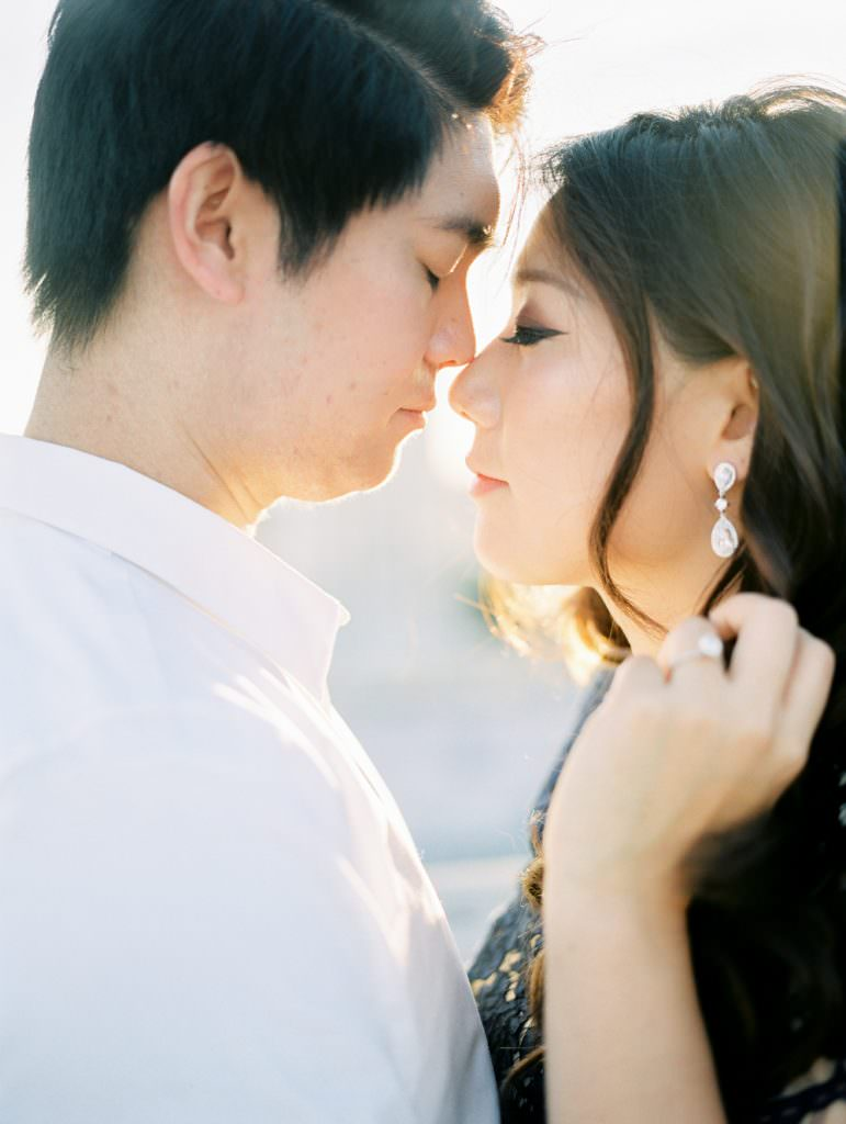 DOWNTOWN LOS ANGELES IN HOME ROOFTOP ENGAGEMENT SESSION-0037